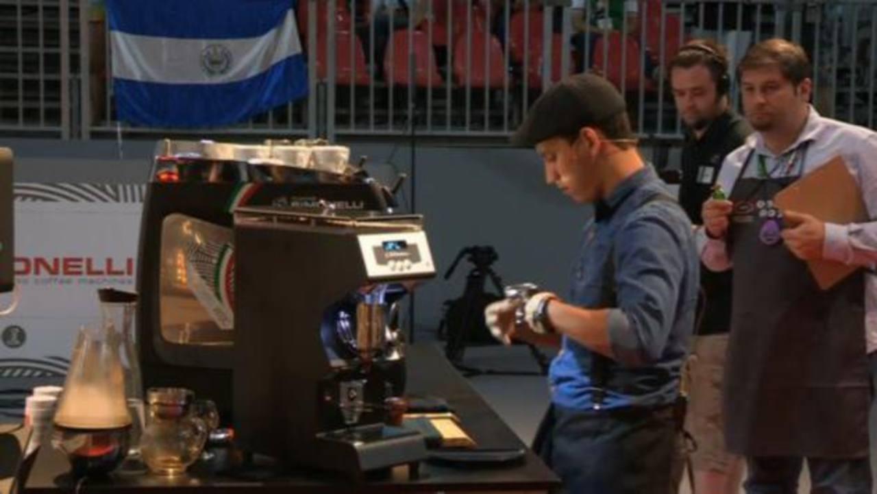 Barista salvadoreño pasa a la final del campeonato mundial