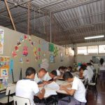 El Centro Escolar Educativo Coronel Francisco Linares, de Apopa, es uno de los que demanda un edificio propio. Foto EDH