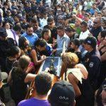 Dan último adiós a instructor de tiro de la ANSP asesinado en La Paz