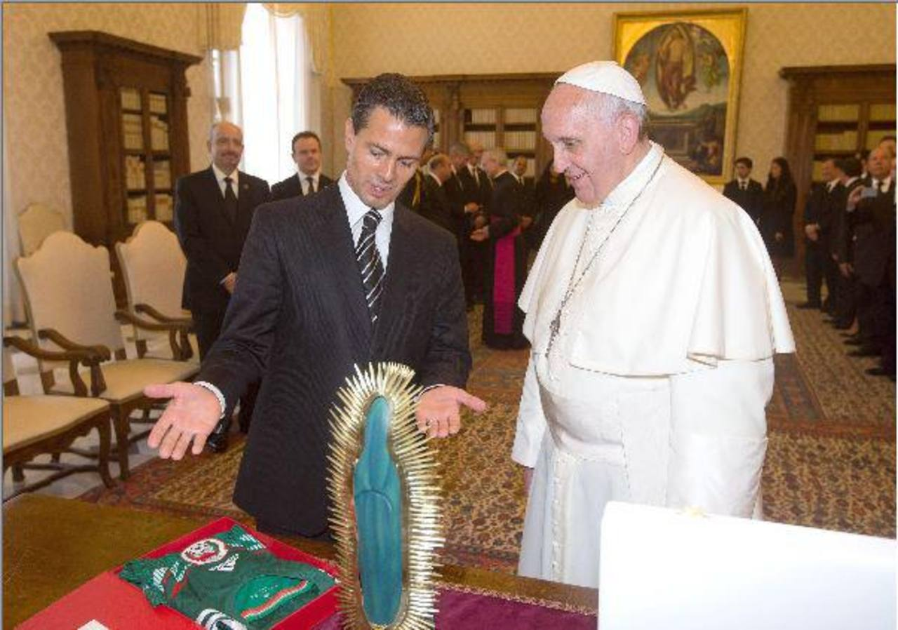 El papa visitará México, informó presidente Peña Nieto