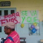 Sindicalistas impiden ingreso de la jefatura de Enfermería del hospital de Santa Ana