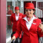 La propuesta proyecta el horizonte de la nueva Avianca. Las prendas responden a exigencias de comodidad y seguridad.