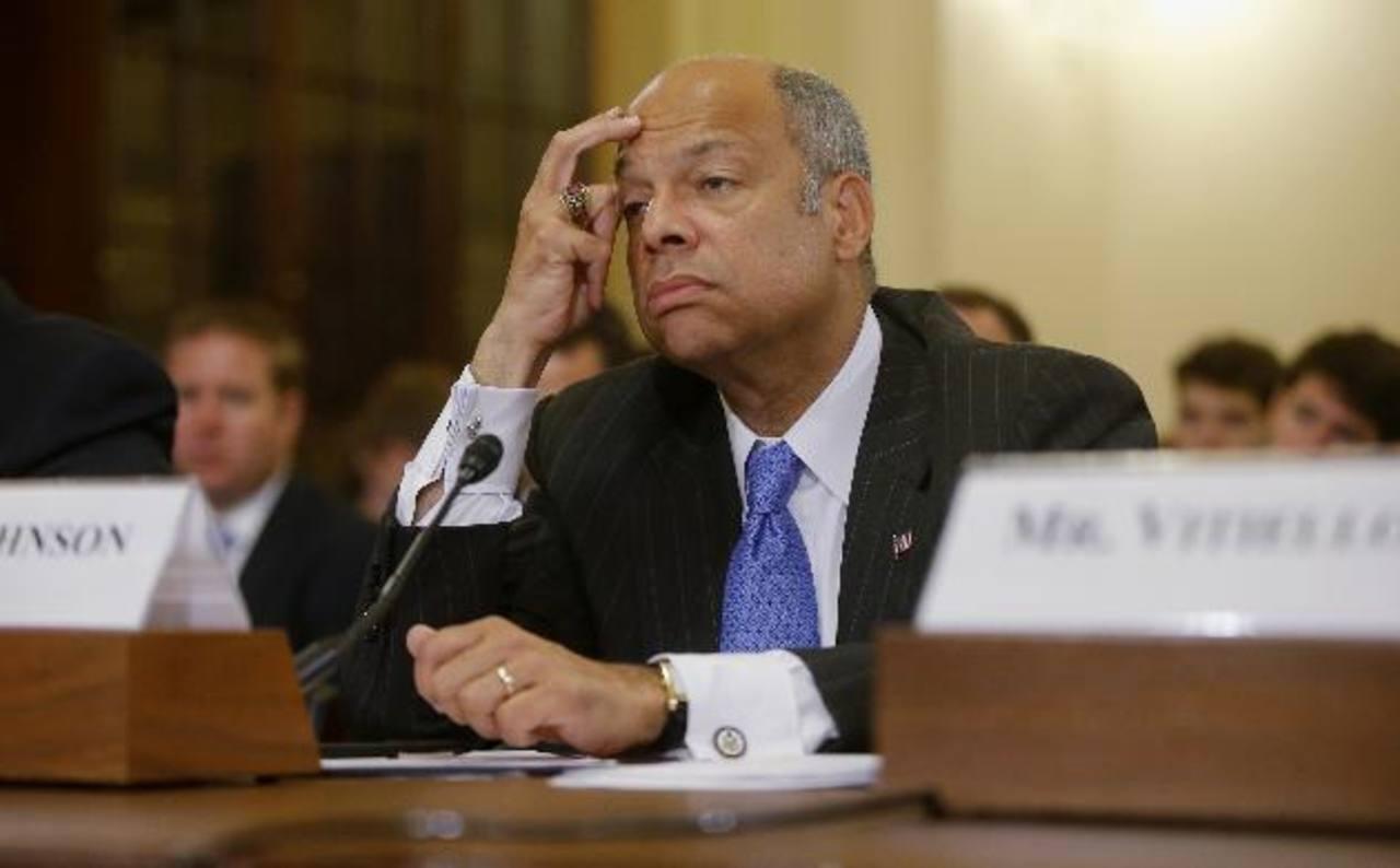 El secretario de Seguridad Nacional, Jeh Johnson, comparece ante el Comité de Seguridad Nacional de la Cámara de Representantes.