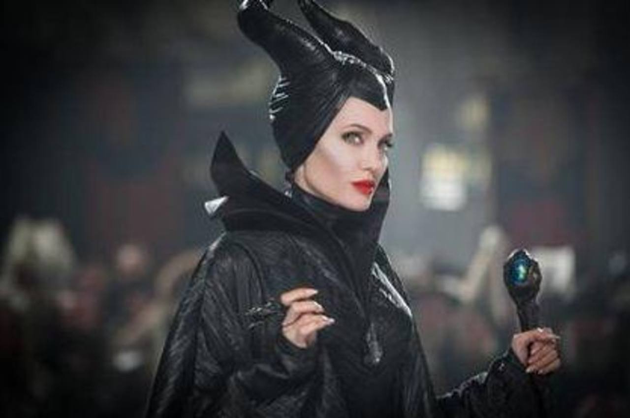 """Angelina Jolie en una imagen de la película """"Maléfica"""" de Disney."""