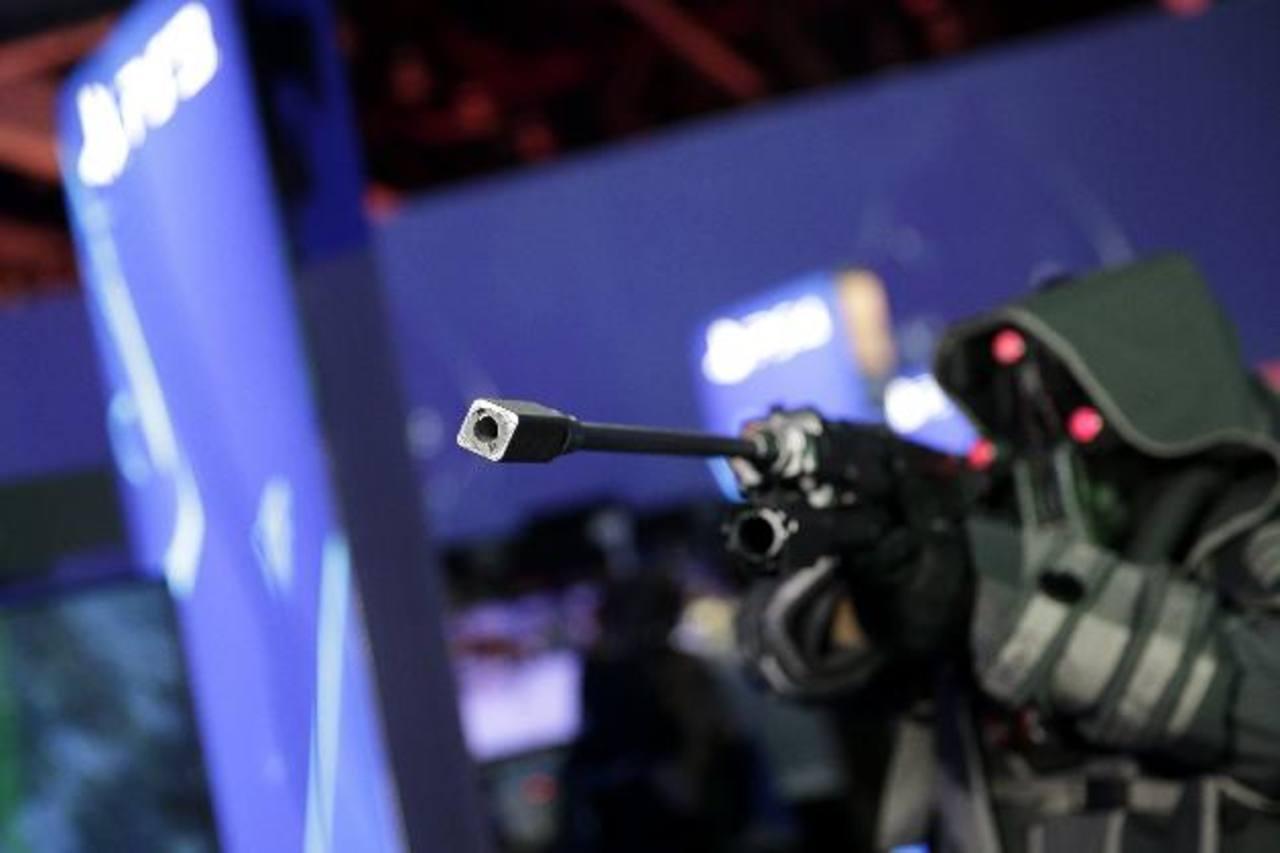 Sony hizo la demostración de sus diferentes videojuegos, algunos con tecnología de realidad aumentada, como Killzone. foto