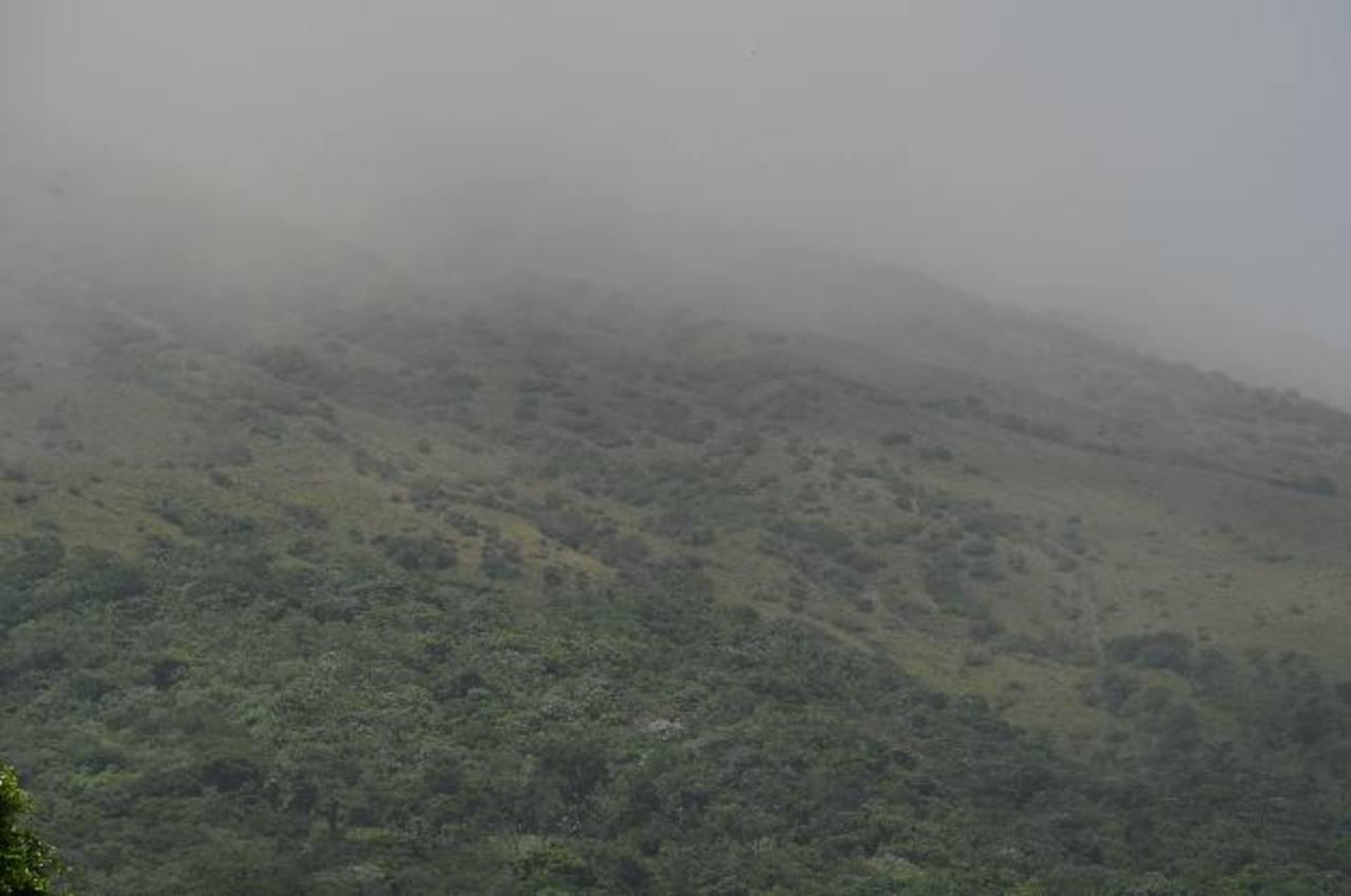 Migueleños en calma pese al riesgo del volcán