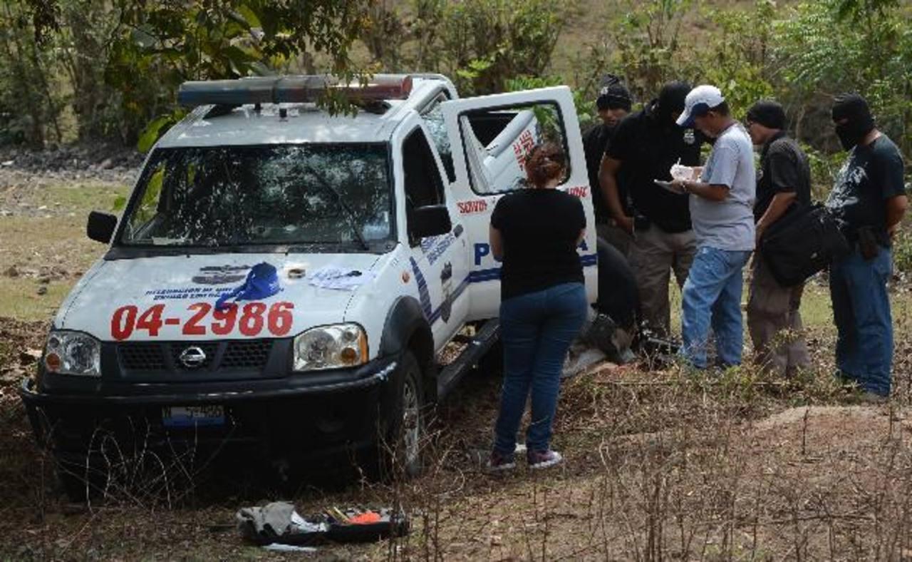 Patrullas policiales han sido atacadas por pandilleros.