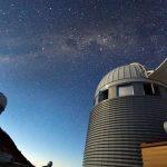 Imagen del Observatorio chileno de La Silla.