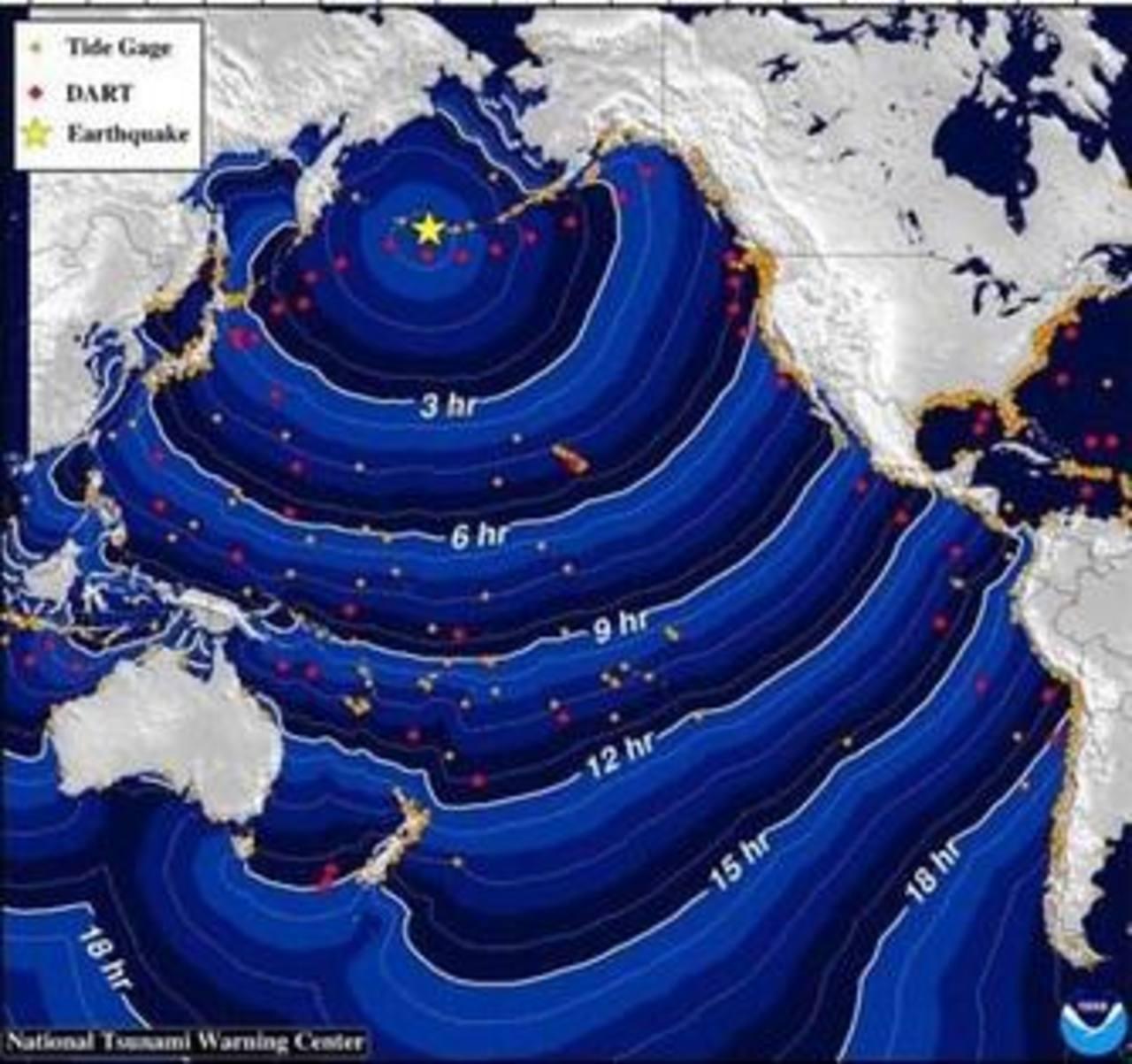 Alerta de tsunami para Alaska tras sismo de 8.0