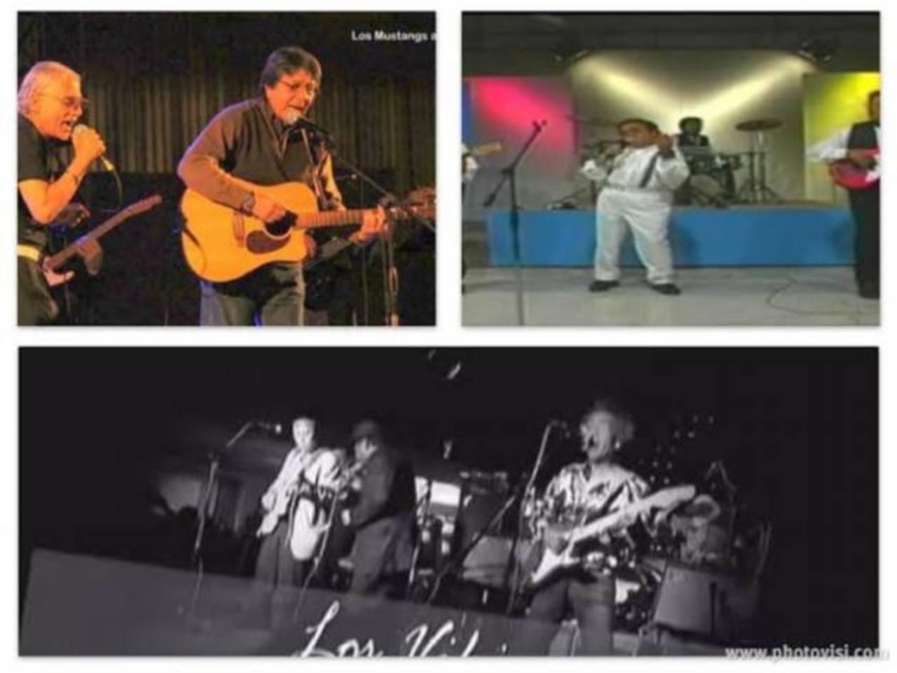 20 grupos de la época dorada de la música salvadoreña