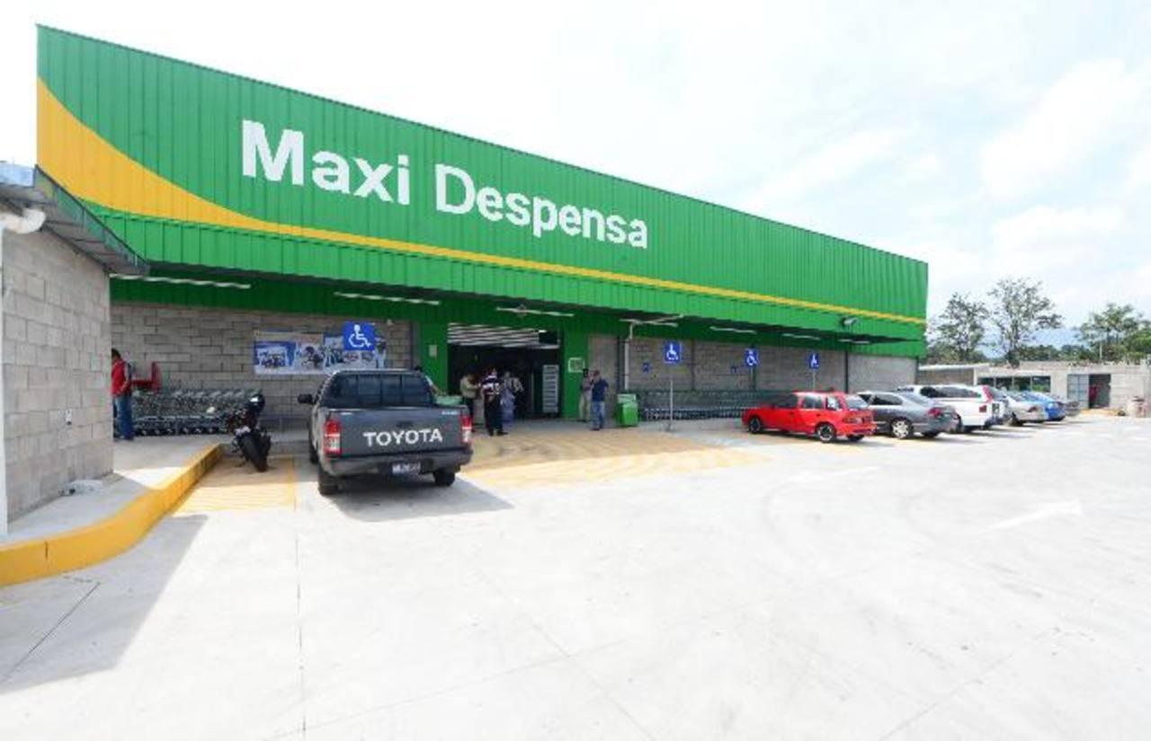 Maxi Despensa Lourdes atenderá todos los días, en horario de 8:00 a.m. a 9:00 p.m. fotos EDH / Ericka Chávez