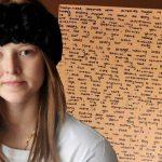 Niña víctima de cáncer deja mensaje a su familia detrás de un espejo