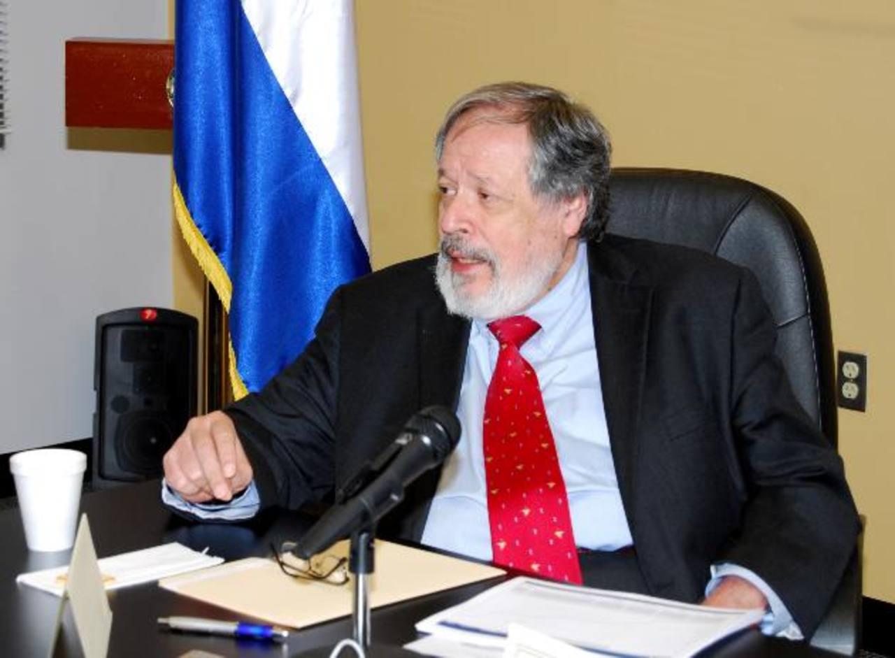 Francisco Altschul vuelve como embajador ante EE. UU. dos años después que Funes lo removiera. foto edh / archivo