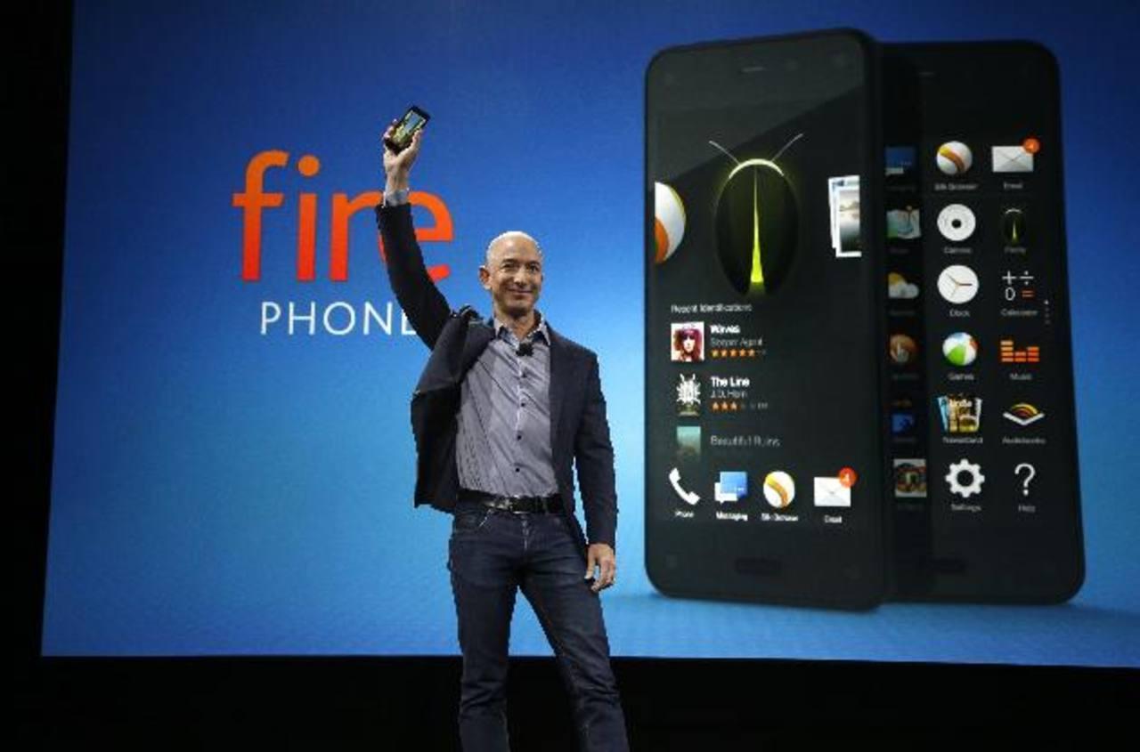 Amazon presenta Fire, un teléfono multiusos