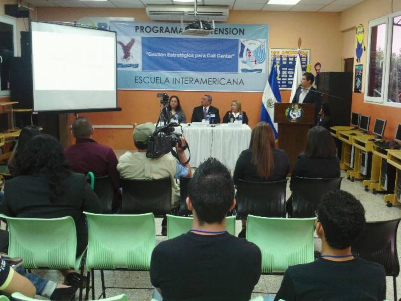 Para solicitar mayor información sobre este diplomado, pueden llamar al 2445-6004. Foto EDH / MAURICIO GUEVARA