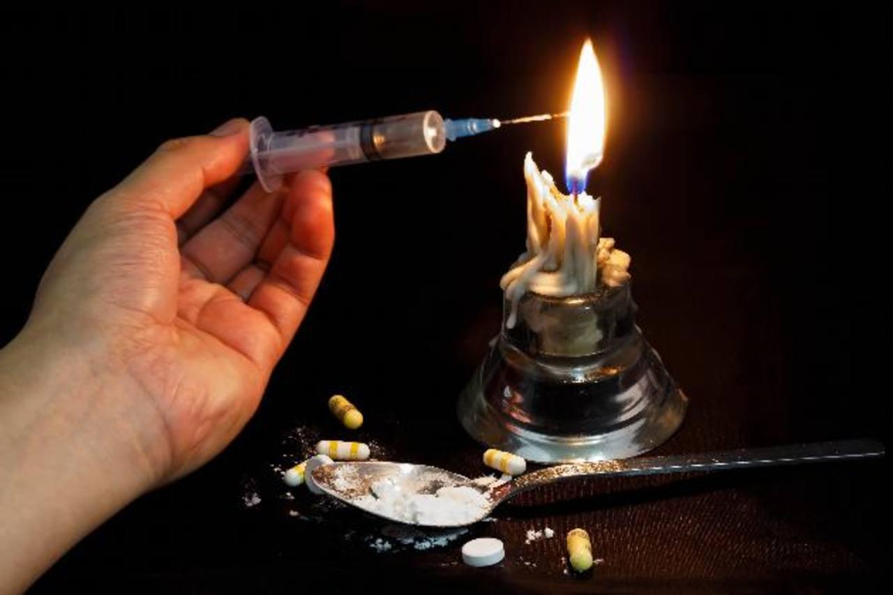 Heroína, sentencia de muerte