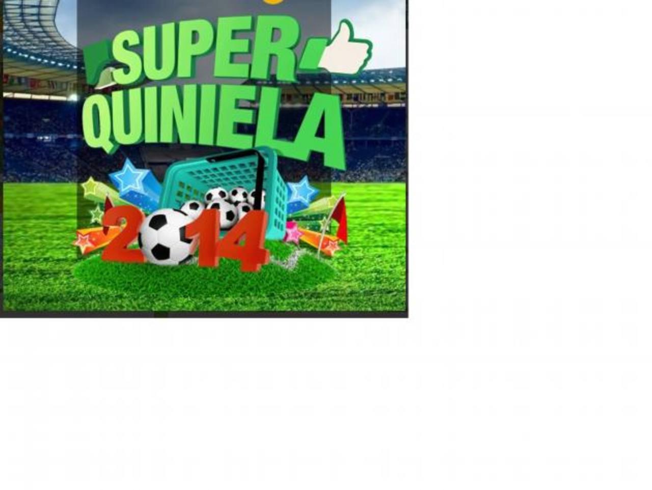 Diferentes marcas patrocinarán los premios de la Súper Quiniela 2014. Foto edh / Archivo