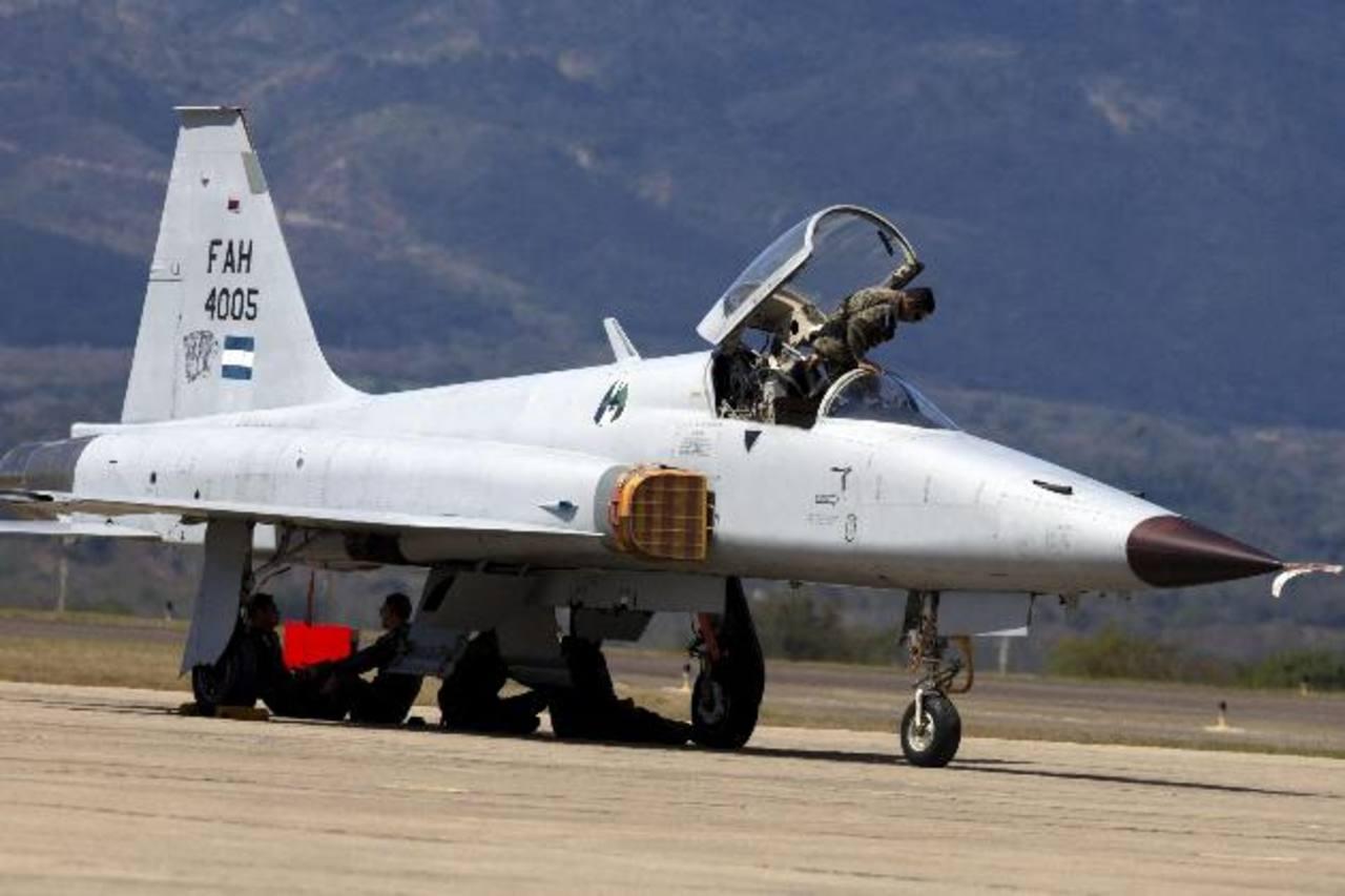 Este es uno de los F5 de Honduras.