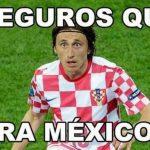 Los memes de México vrs. Croacia