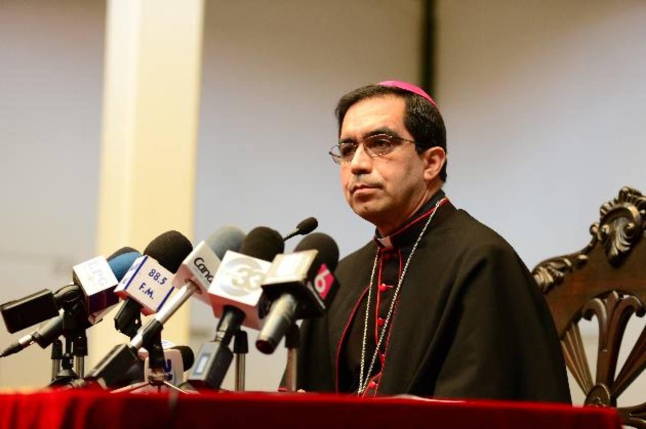 El Arzobispo de San Salvador dijo que se debe buscar la paz social. foto edh / Jorge Reyes
