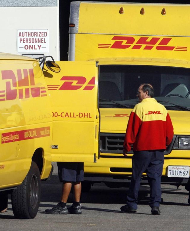 DHL Express se especializa en el transporte de carga.