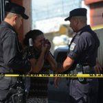 Un triple homicidio ocurrió ayer en San Martín, las víctimas fueron los hermanos Daniel Stanley y David Ernesto Mancía Osorio, y Carlos Alberto Martel. FOTO EDH / Jaime anaya .