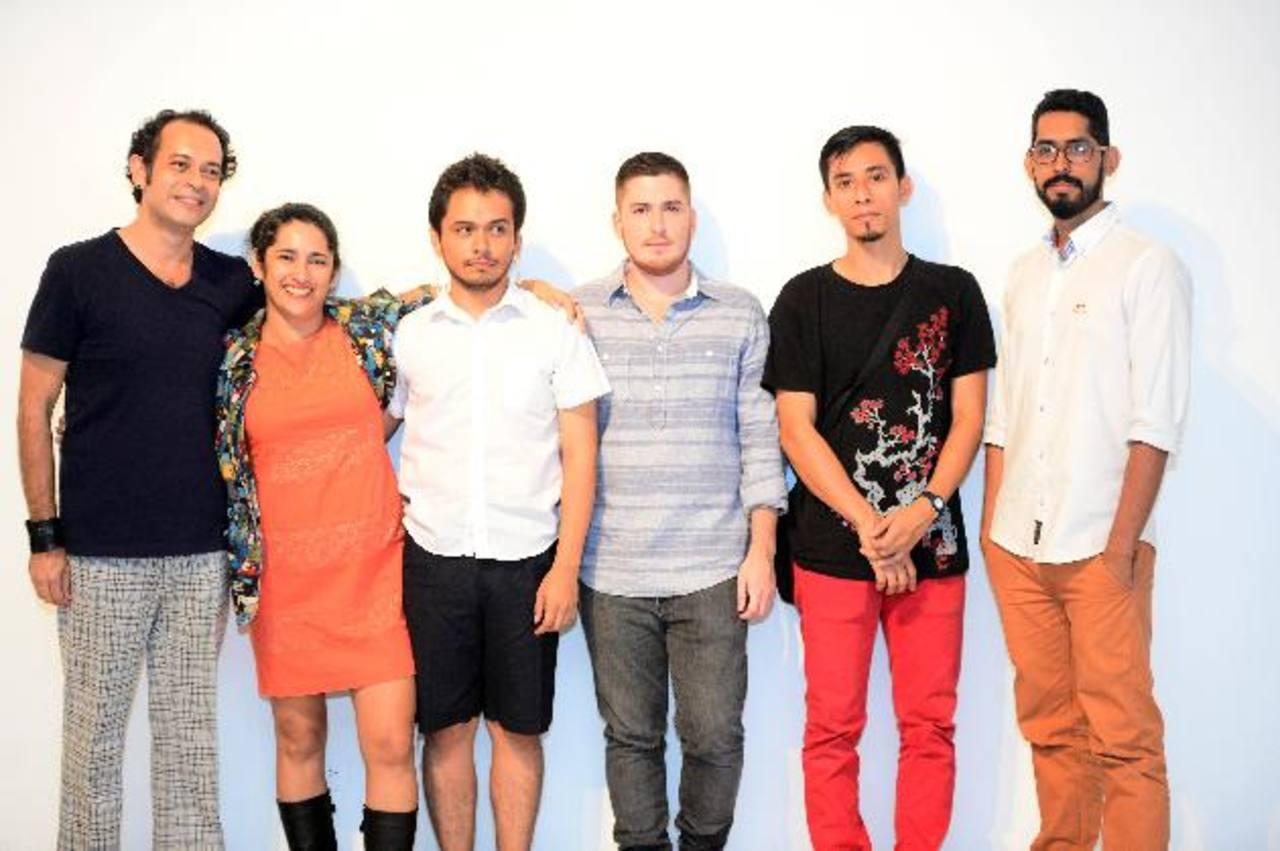 Guillermo, Natalia, Javier, Rodrigo, Mauricio y Jaime, triunfaron. Foto EDH / René Quintanilla