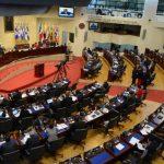 El pleno legislativo debe lograr mayoría calificada para la aprobación de los $1,150 millones que solicita el Gobierno para lograr terminar este año sin saldos rojos. foto edh / ARCHIVO