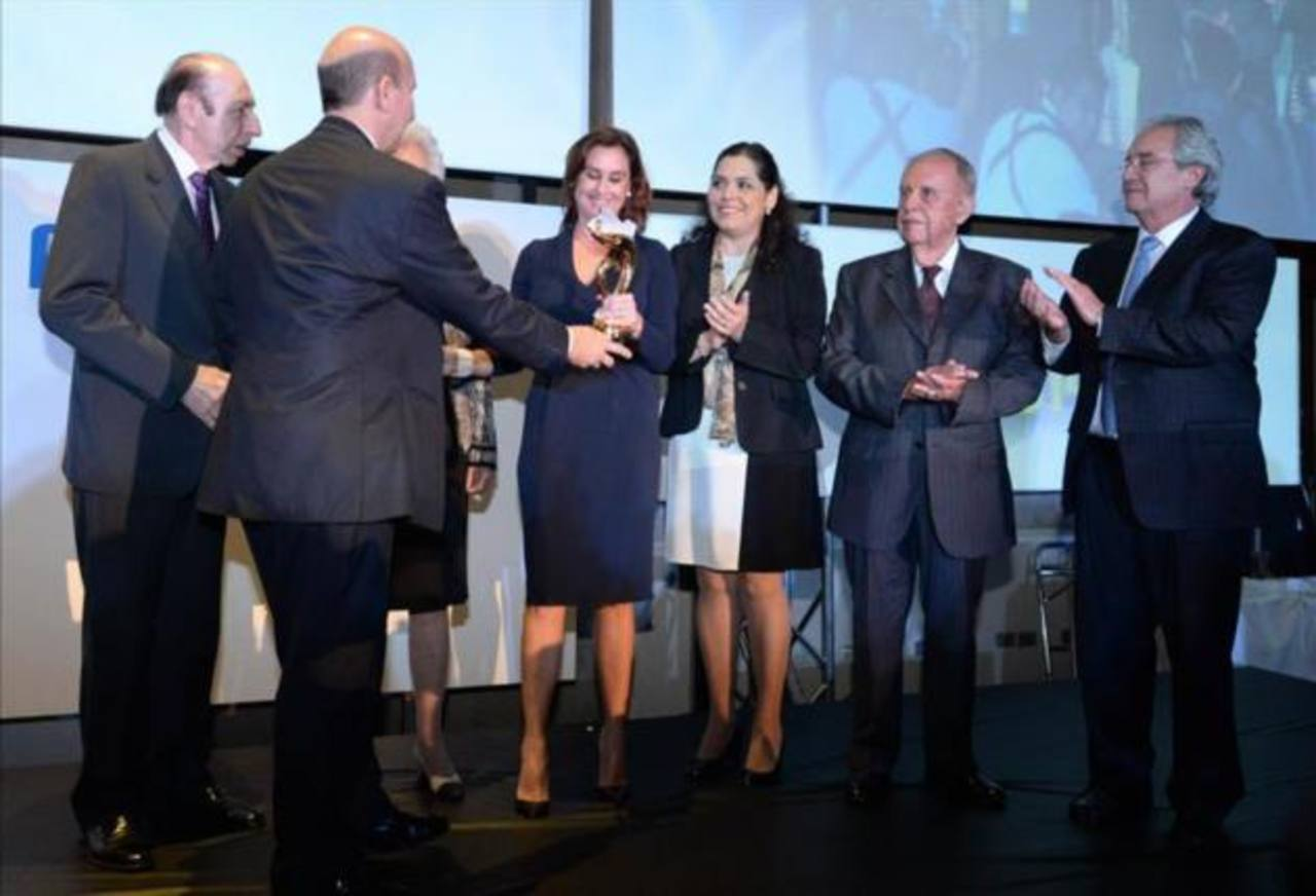 Discurso de agradecimiento de Celina de Kriete, galardonada en premios ASI