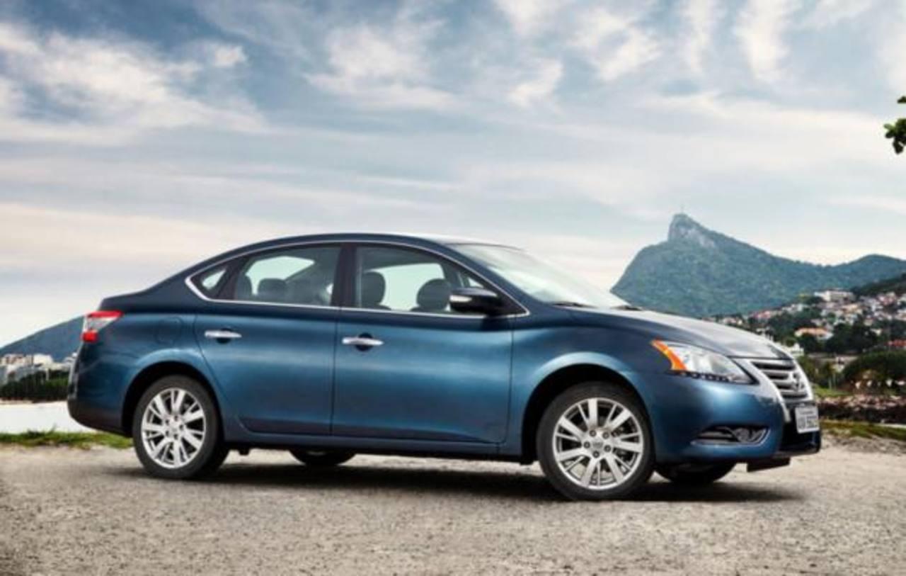 El nuevo modelo de Nissan Sentra 2014 trae un buen paquete de innovaciones . Foto / Cortesía
