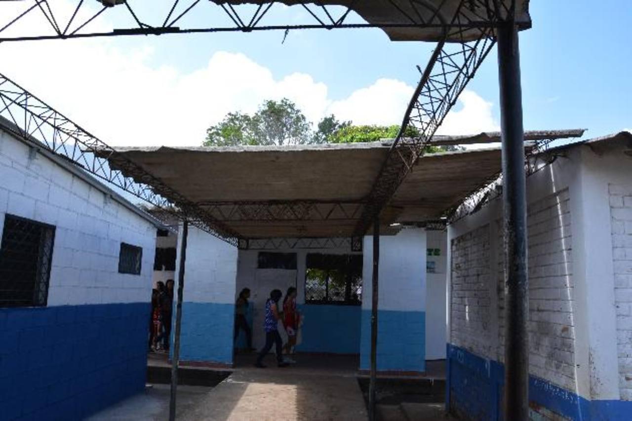 El centro escolar Meardi, en Berlín, Usulután, es uno de los que requiere de atención.