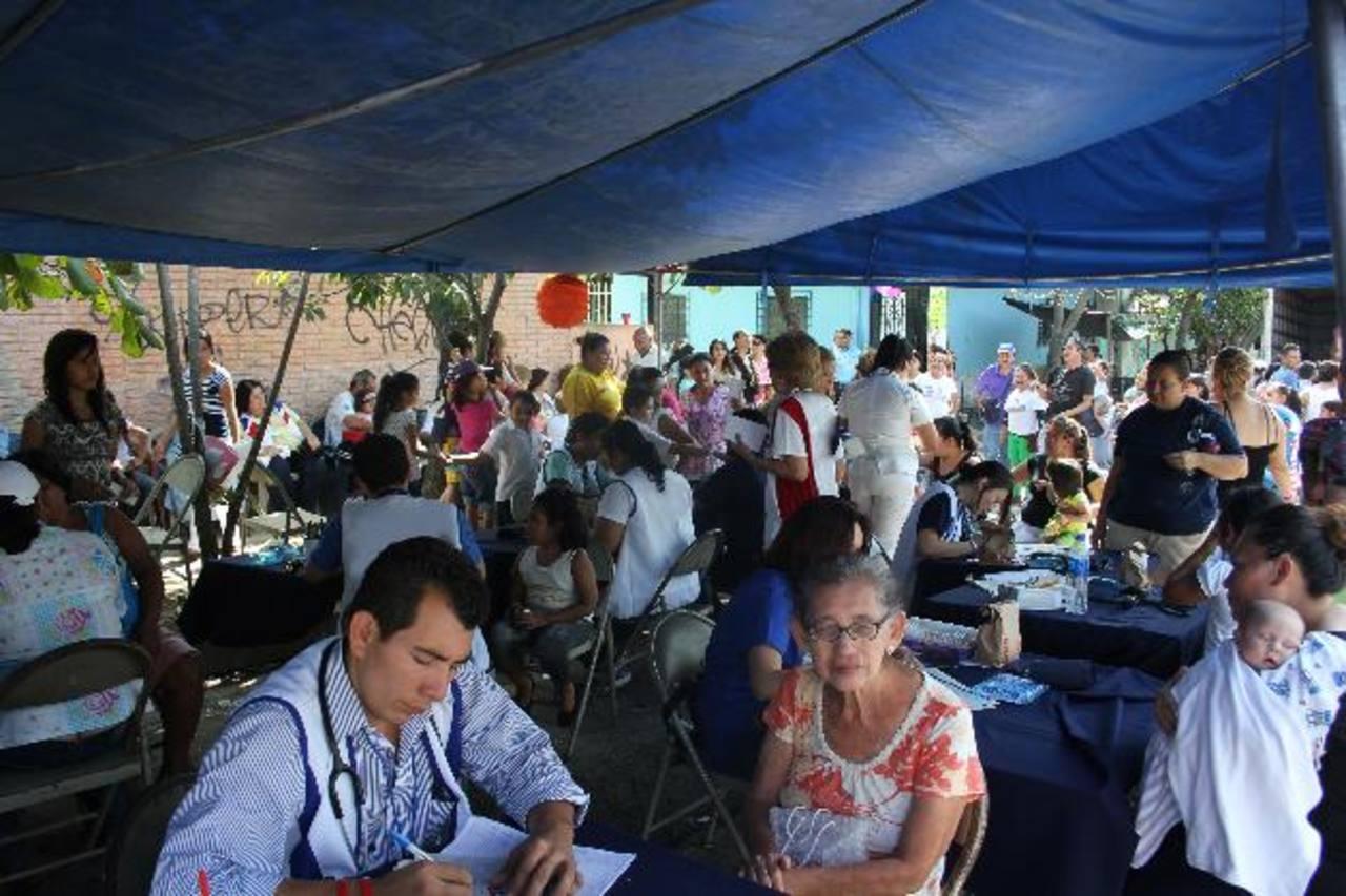 Médicos especialistas brindarán atención a los residentes del municipio . Foto EDH / cortesía