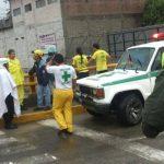 Evacuan siete familias por las lluvias en Zapotitán