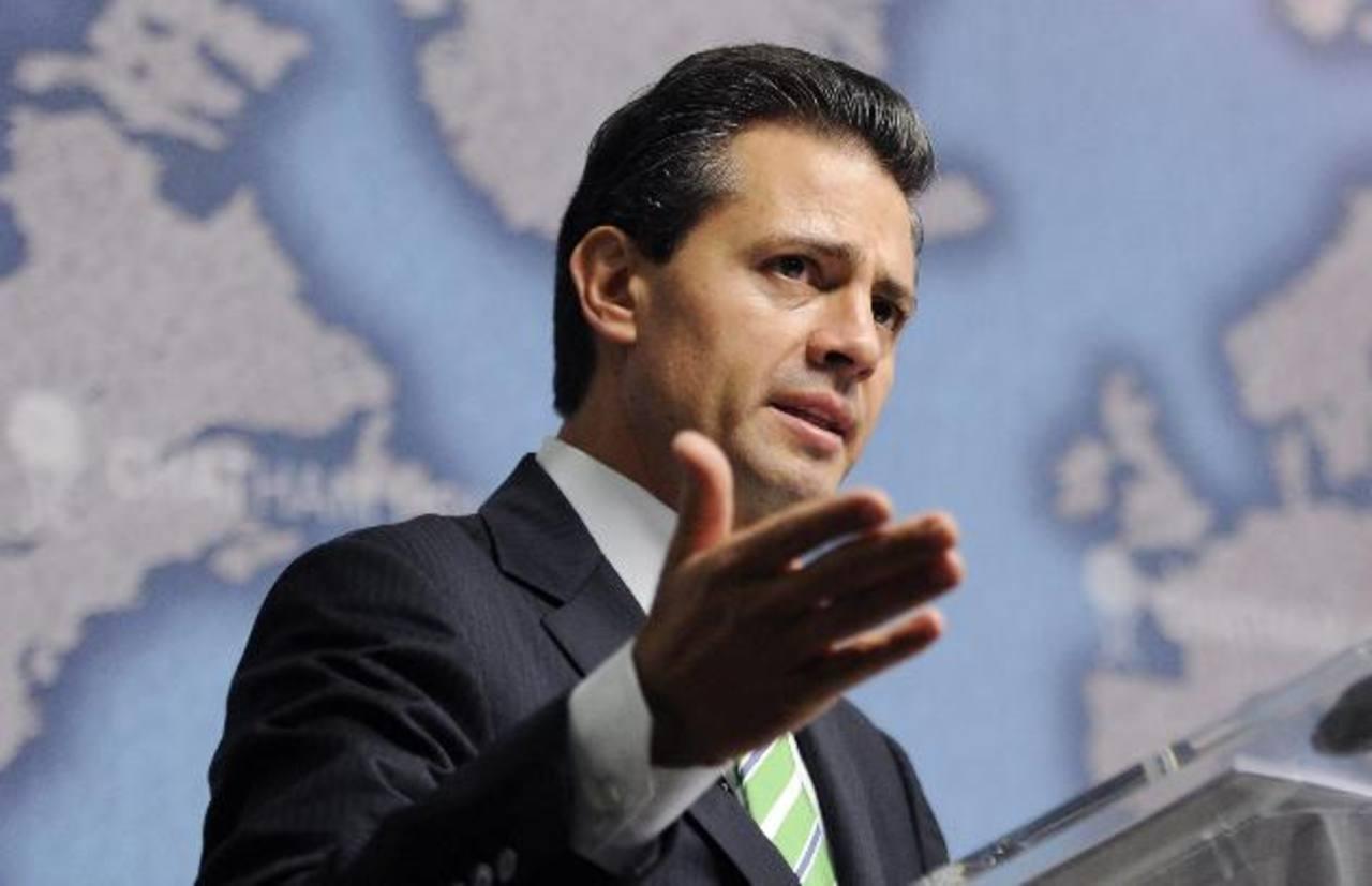 Enrique Peña Nieto asumirá la presidencia temporal.