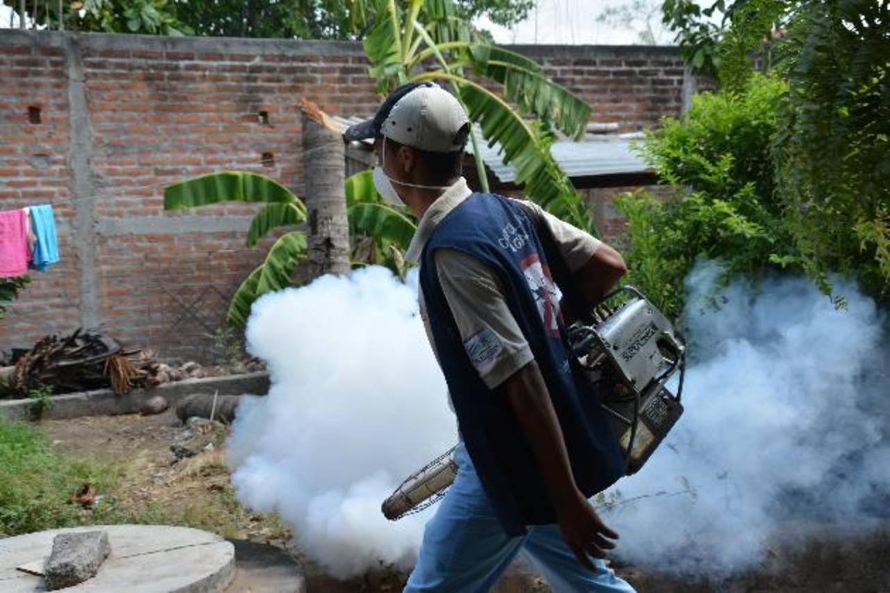 Las autoridades continúan con los esfuerzos para prevenir enfermedades. Foto EDH /archivo