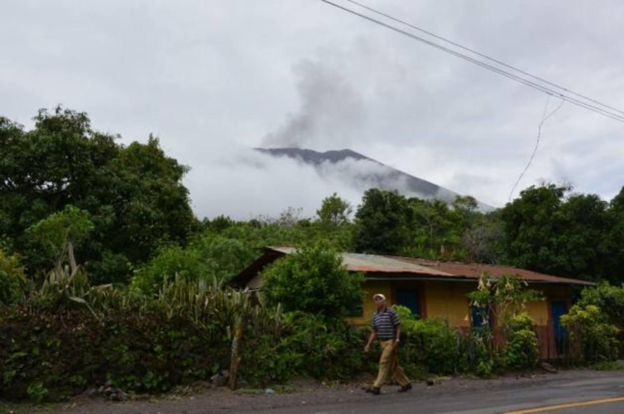 Incremento en sismicidad del Chaparrastique por obstrucción de respiraderos