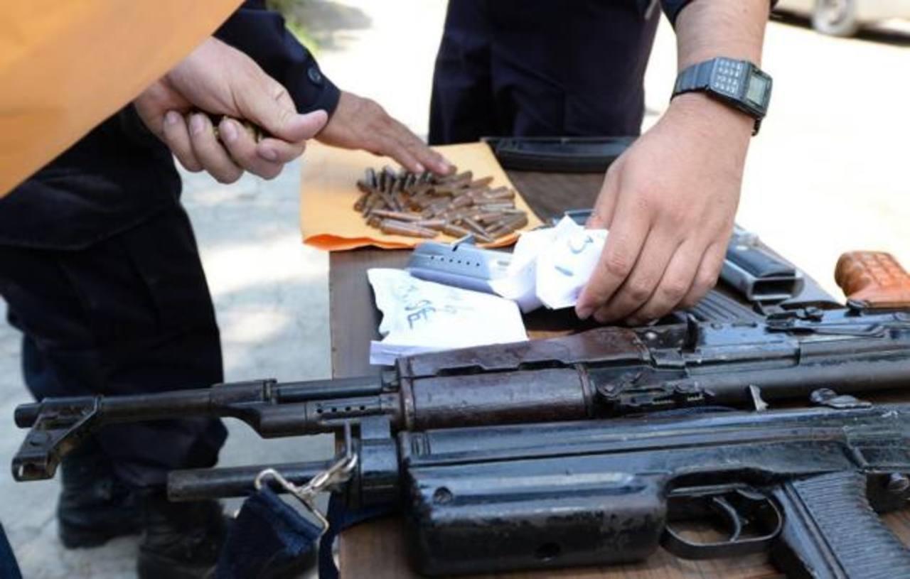 Policía dice que pandilleros siguen adquiriendo armas