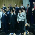 Sánchez Cerén juramenta al nuevo gabinete de gobierno