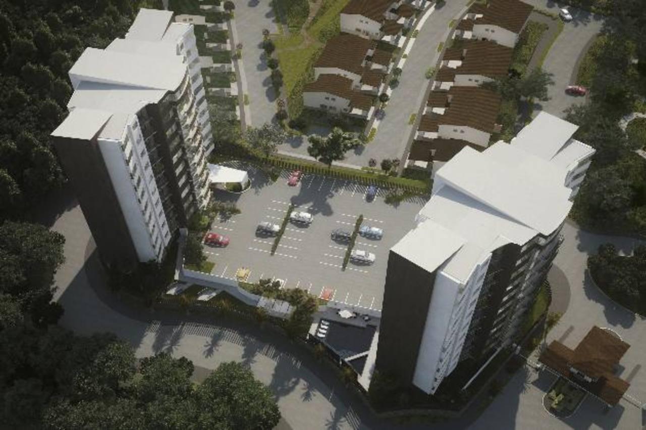 Puerta Los Faros, el nuevo proyecto habitacional de Urbánica, contará con dos torres y un total de 56 apartamentos. Foto edh / Cortesía