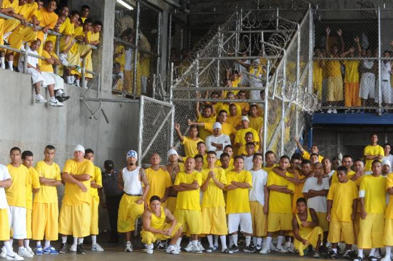 En los últimos siete años no se han construido nuevas cárceles en El Salvador , a pesar del hacinamiento. Foto EDH / archivo