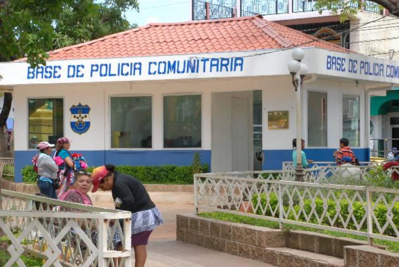 Ante las fallas, comerciantes del parque piden más vigilancia policial. Foto EDH / insy mendoza