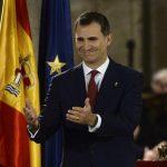 """Príncipe Felipe promete servir a una España """"unida y diversa"""""""