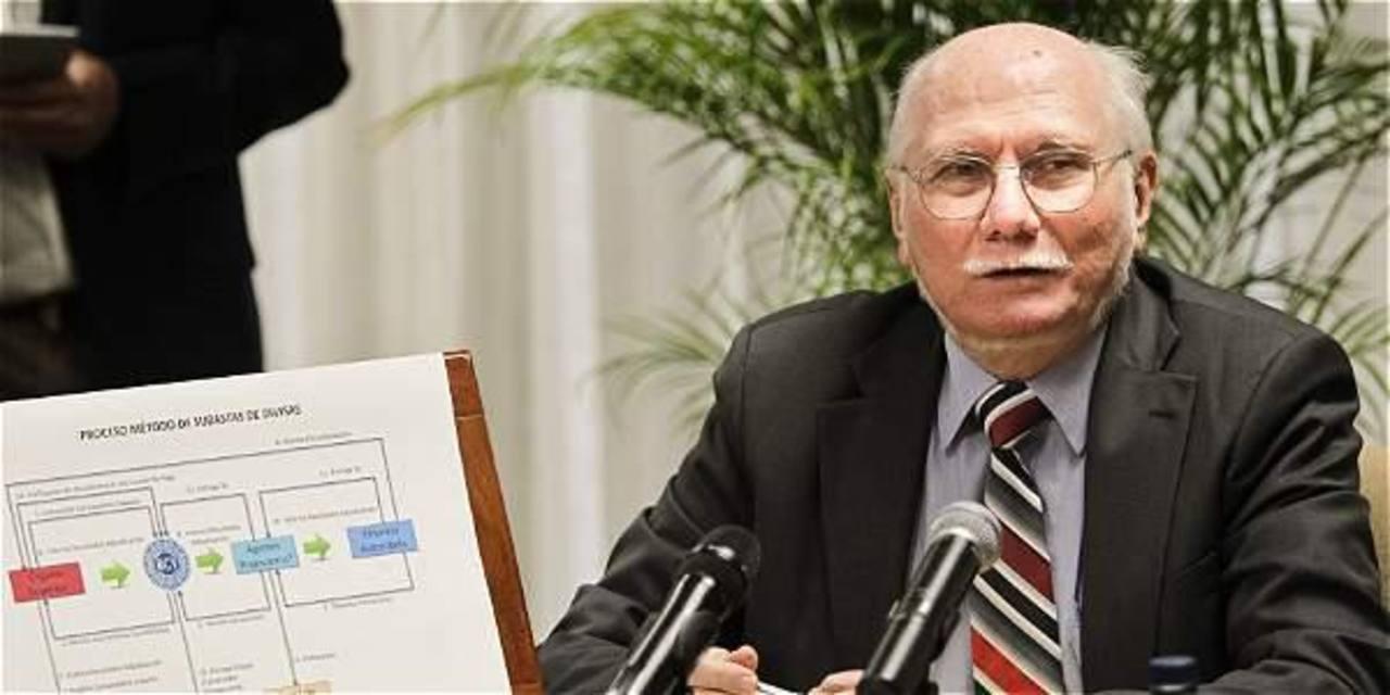 Jorge Giordani, exministro de planificación y finanzas en los gobiernos chavistas.