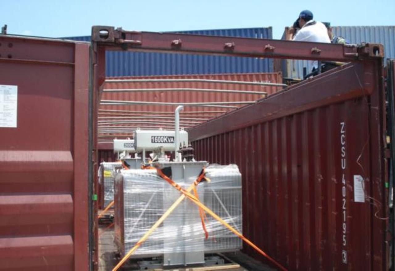 Los dos mil kilos de cocaína que llegaron a México vía Buenos Aires, en abril, estaban ocultos en tres transformadores acondicionados por un ingeniero azteca. foto edh / tomada de perfil.com