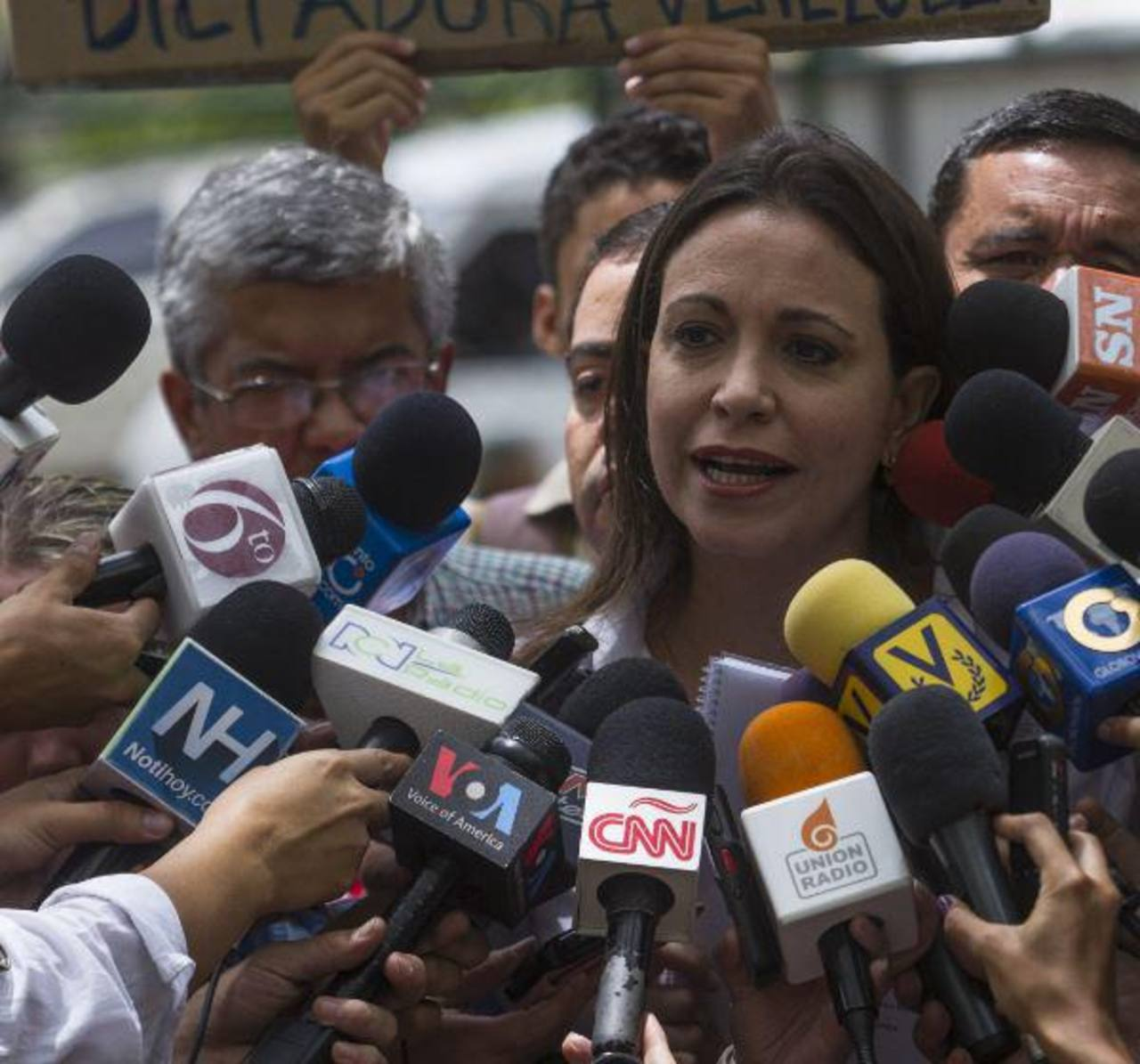 Machado asistirá a Fiscalía por implicación en plan magnicida