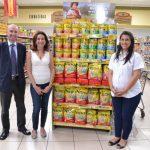 De izq. a der. Álvaro Labarca, de Nestlé; Celina Palomo, de Fusal y Karen Morán, de Súper Selectos. Foto EDH/ Mario Díaz