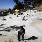 Fotos: Bolivia tiene la pista para skaters a más altura del mundo
