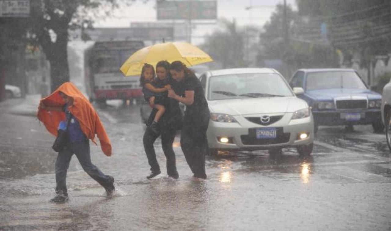 El clima en el país continuará lluvioso.