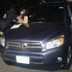 Ada Villatoro, de 27 años, viajaba en este vehículo junto con un hombre. Los homicidas les bloquearon el paso y les dispararon. Los balazos le cayeron a ella. Foto EDH / Cortesía TVO Oriental