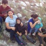 Rescatan con hambre y sed a niños salvadoreños cruzando Río Grande